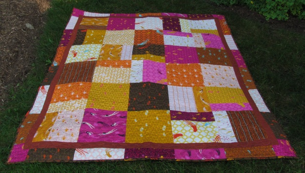 Heather Ross Quilt