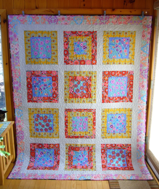 Finished Bouquet Quilt