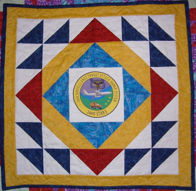 Air Force Joint Stars Quilt