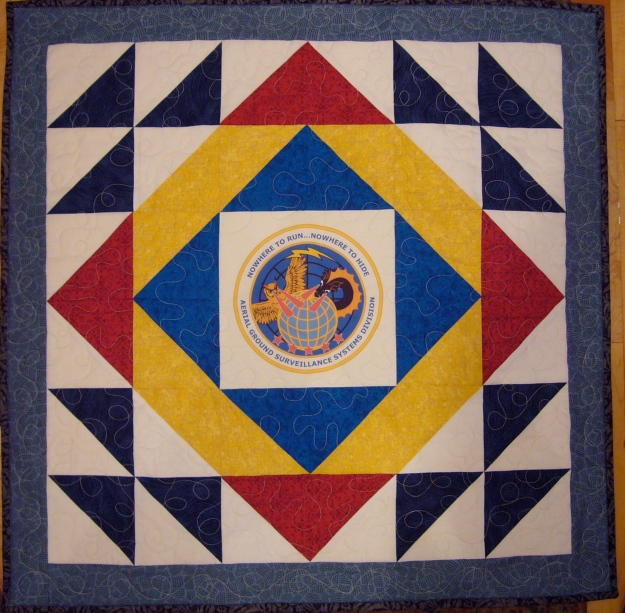 Air Force AGSSD Quilt