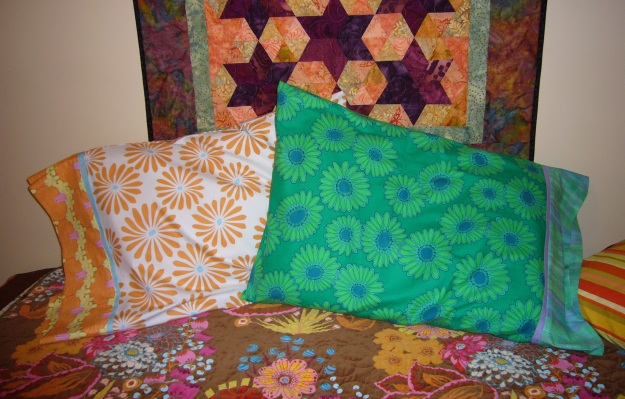 Green and Orange Flower Cases