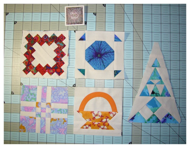 Dear Jane August Blocks