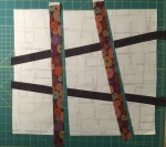 Sew the second set of strips